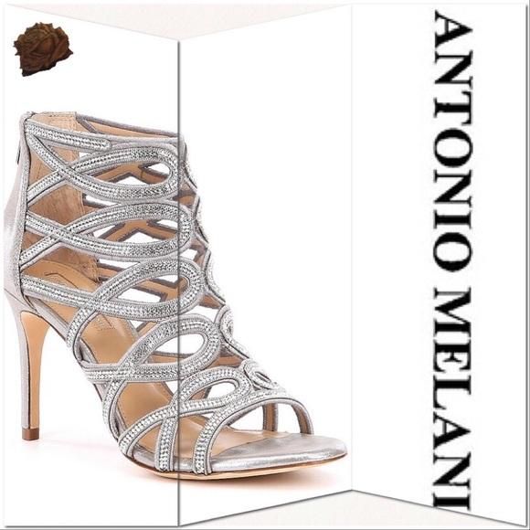 c37f0ce61 Antonio Melani Pagee Rhinestone Dress Sandals